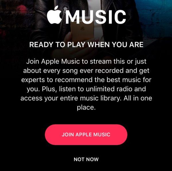 Apple Music gift card