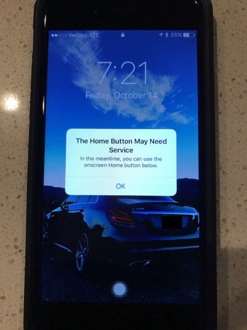 tasto home iPhone 7