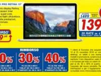 rottamazione Euronics MAcBook Pro 13