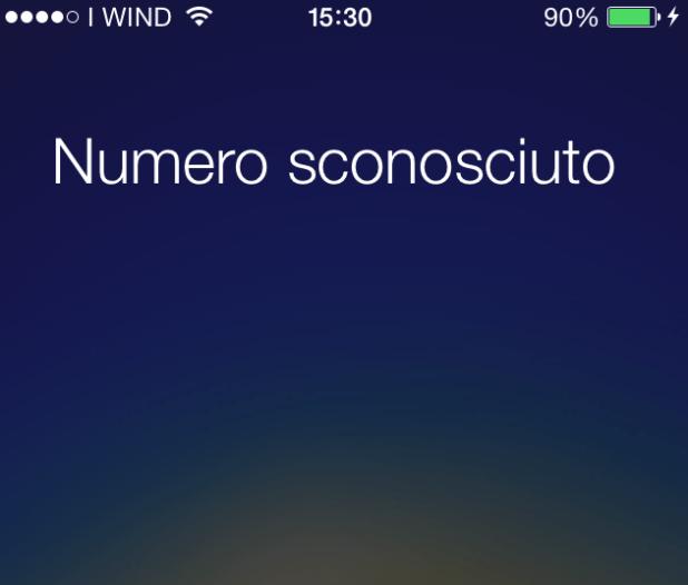 bloccare chiamate da numero sconosciuto