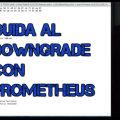 GUIDA DOWNGRADE PROMETHEUS