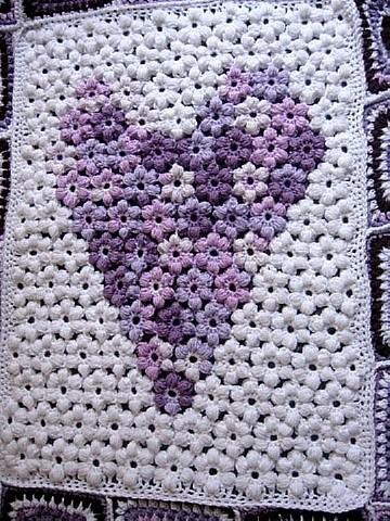 Flower & Granny Baby Blanket 29