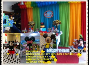 MICKEY THEME BP0010
