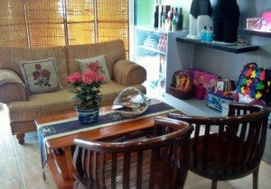 Rosemala spa waiting area