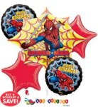 action hero spiderman balloon