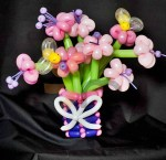 balloon flower boquet