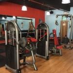 gym room sauna