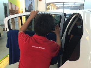 tinted car window films