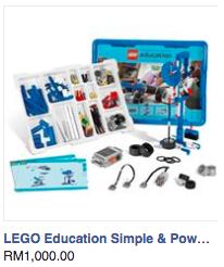 Lego Education Simple machine