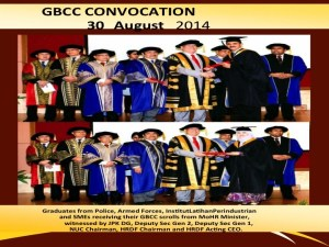 convocation for GBCC