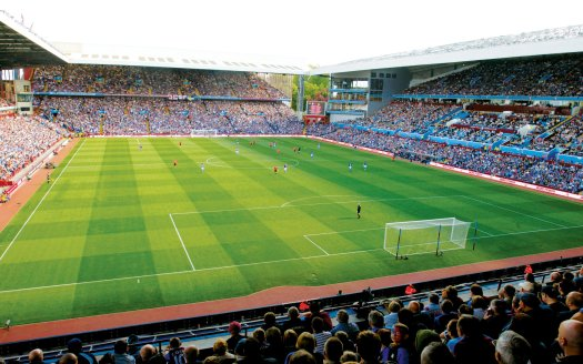 Aston Villa F.C. (Football Club) of the Barclay's Premier ...