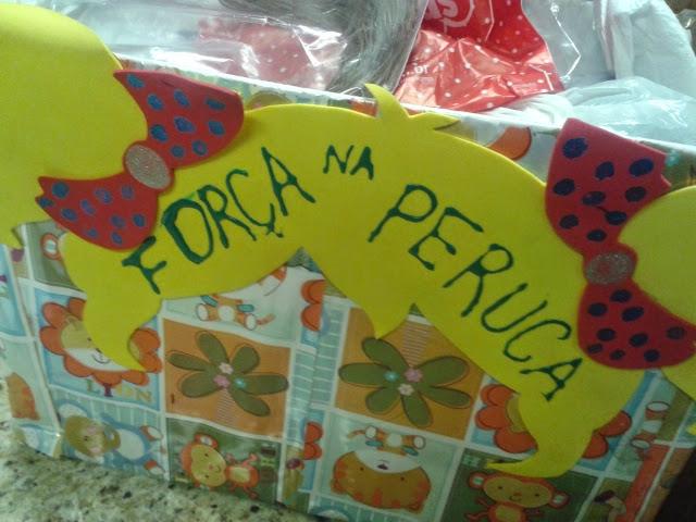 Força na Peruca - Instituto do Câncer Infantil