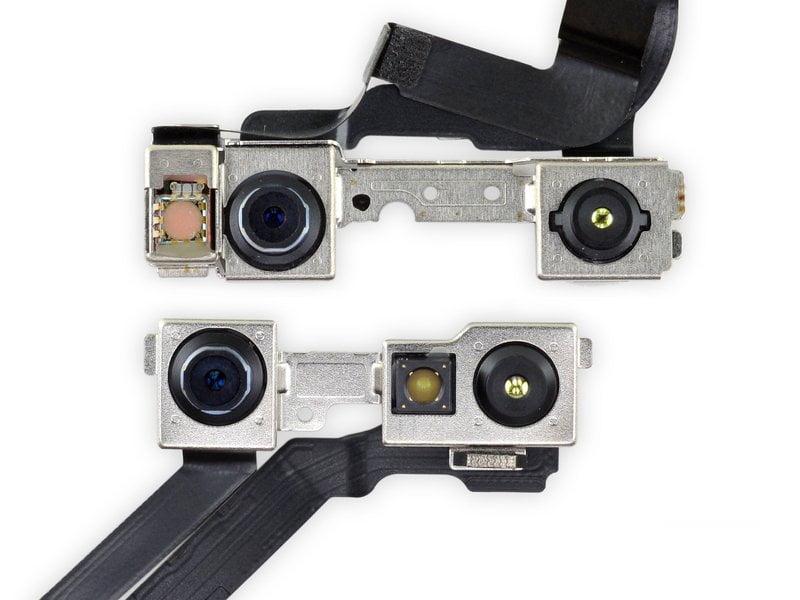 La fotocamera anteriore dell'iPhone 13