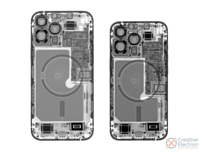 iPhone 13 ai raggi X