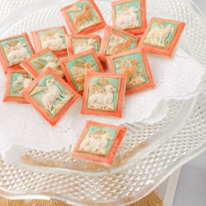 How To Paint Springerle Cookies