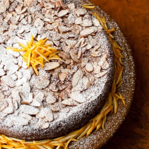 A Glimpse at Recipes of The Past: Gateau Grand Marnier - Orange Liqueur Cake