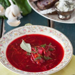 Russian Monday: Vegetarian Borscht