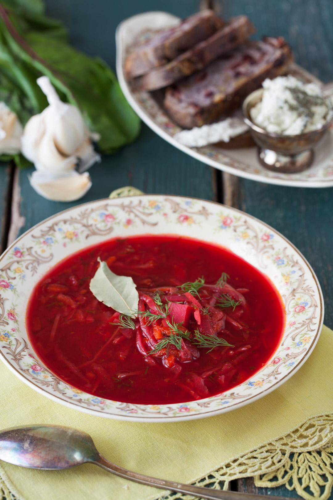 Russian Monday Vegetarian Borscht Cooking Melangery