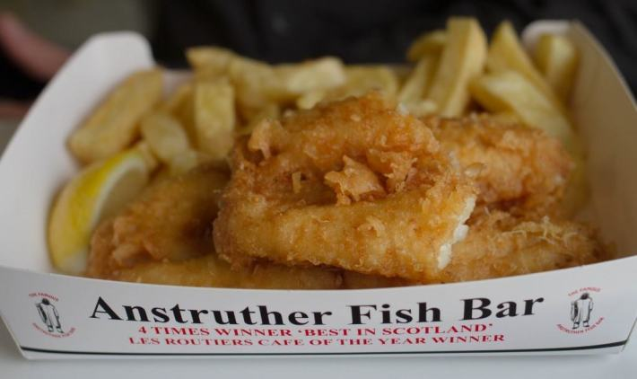 Anstruther Fish Bar ,Fife, Scotland Travel Guide