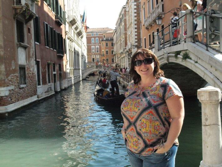 Enjoying the sunshine in Venice, BCC Skin Cancer