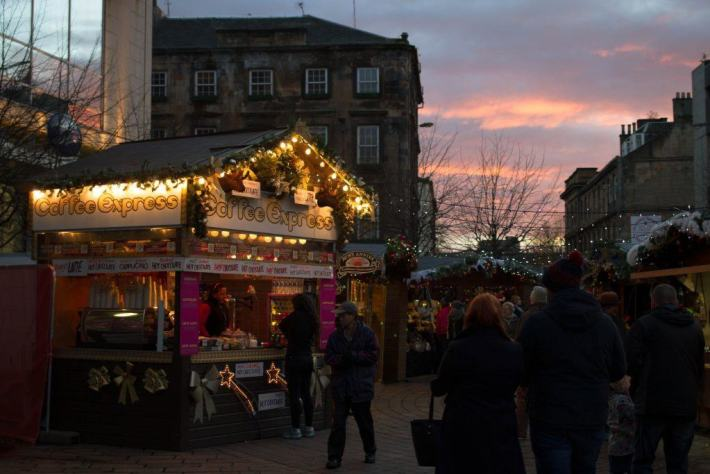 Christmas Market, Glasgow, Scotland