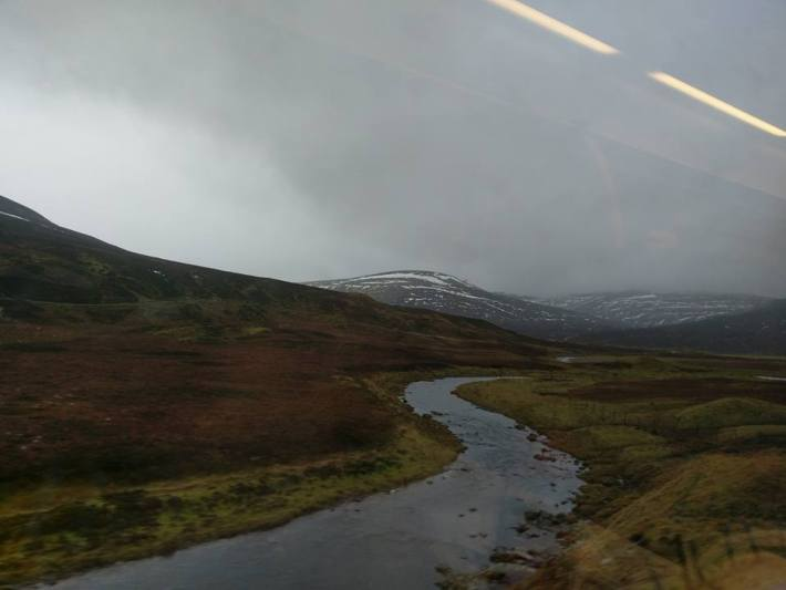 Train journey, Scottish Travel Guide