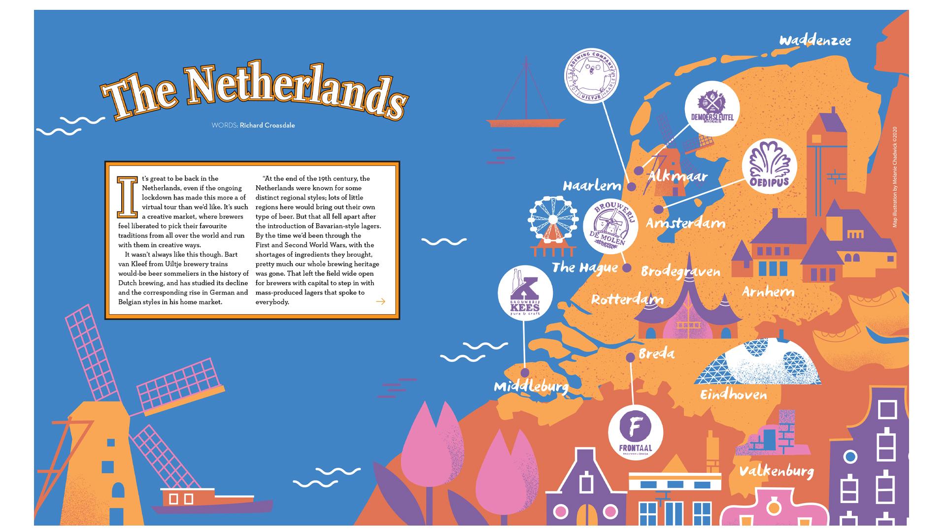 Netherlands-map