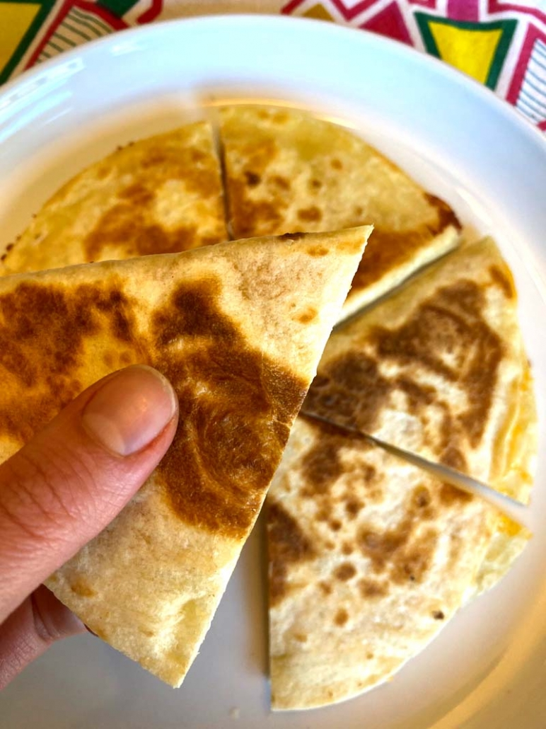 easy cheese quesadillas