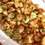 Easy Oven Roasted Potatoes Recipe