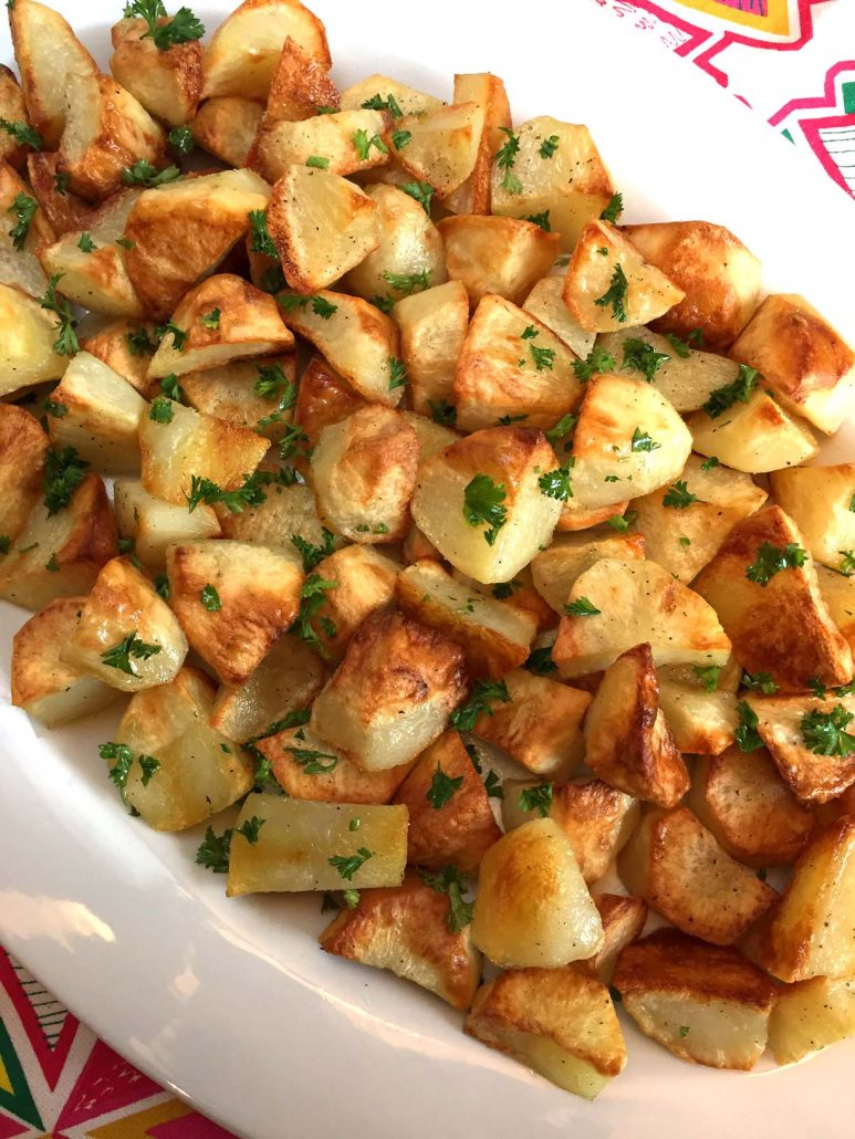 Easy Oven Roasted Potatoes Recipe