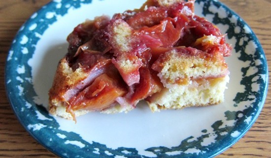 how to make upside down peach cake recipe