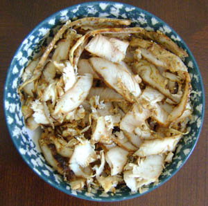 chicken-fajitas-sliced-chicken picture - thinly sliced with the food processor