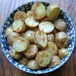 how to make roasted new potatoes