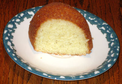 how to make lemon bundt cake