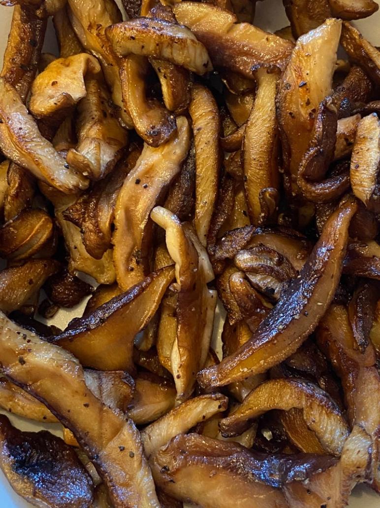 Sauteed Shiitake Mushrooms