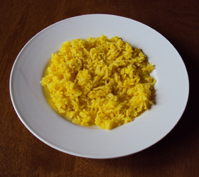 yellow rice recipe