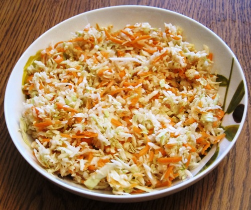 healthy low fat cole slaw without mayo