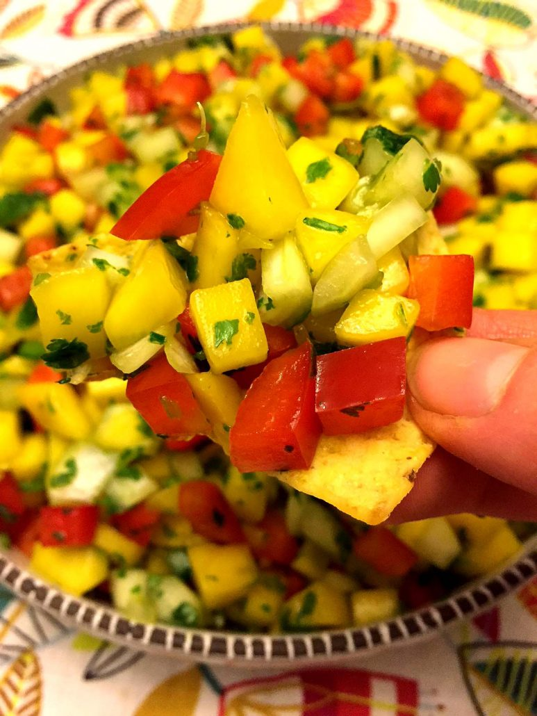 Best Ever Mango Salsa