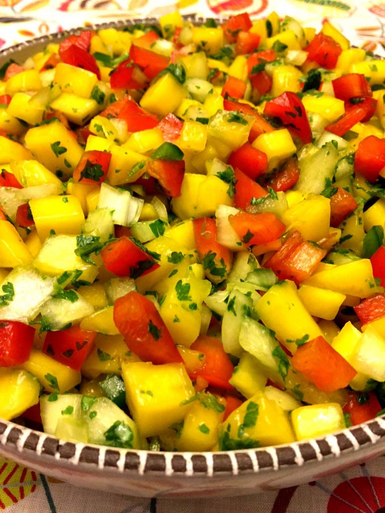 Mango Salsa With Jalapeno Pepper