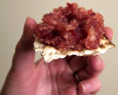nut free charoset for passover