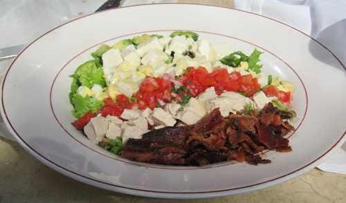Cobb salad at Cafe Central