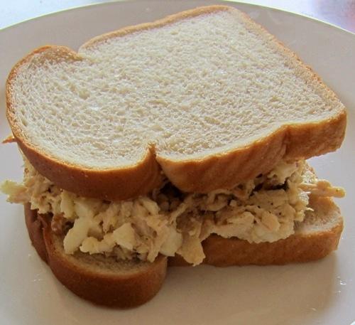 big chicken salad sandwich