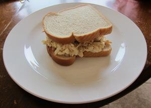 chicken salad sandwich picture
