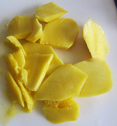 sliced mango - picture of mango slices