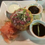 stir crazy ahi tuna and avocado poke picture