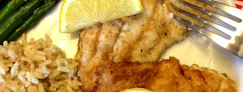 Egg an Flour Pan Fried Fish Recipe