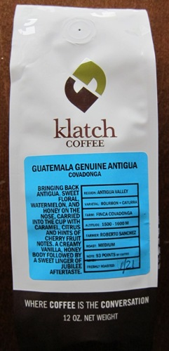 klatch coffee package