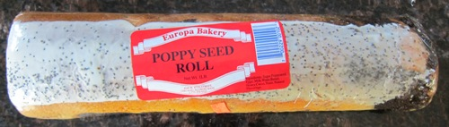 poppyseed roll