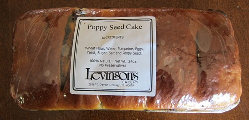 whole poppy seed cake roll picture