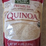 package of organic quinoa from costco